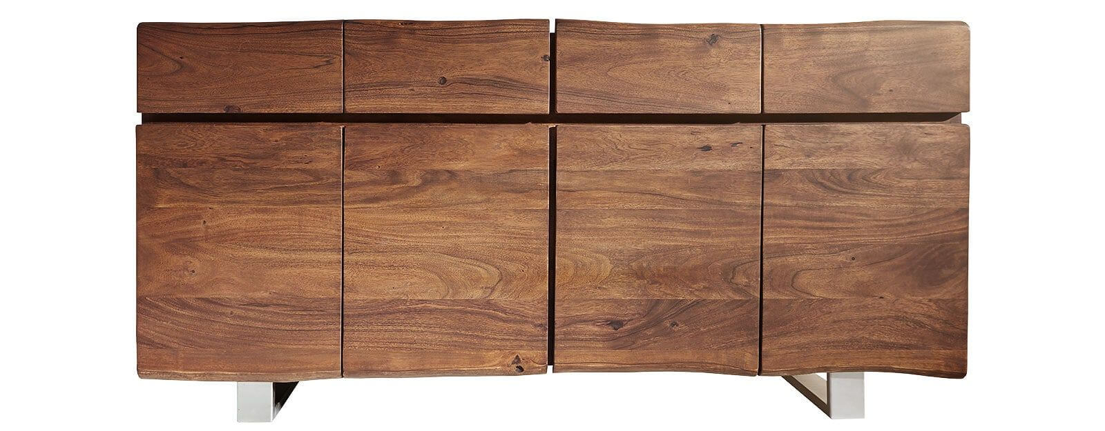 Live-Edge dressoirs in bruin