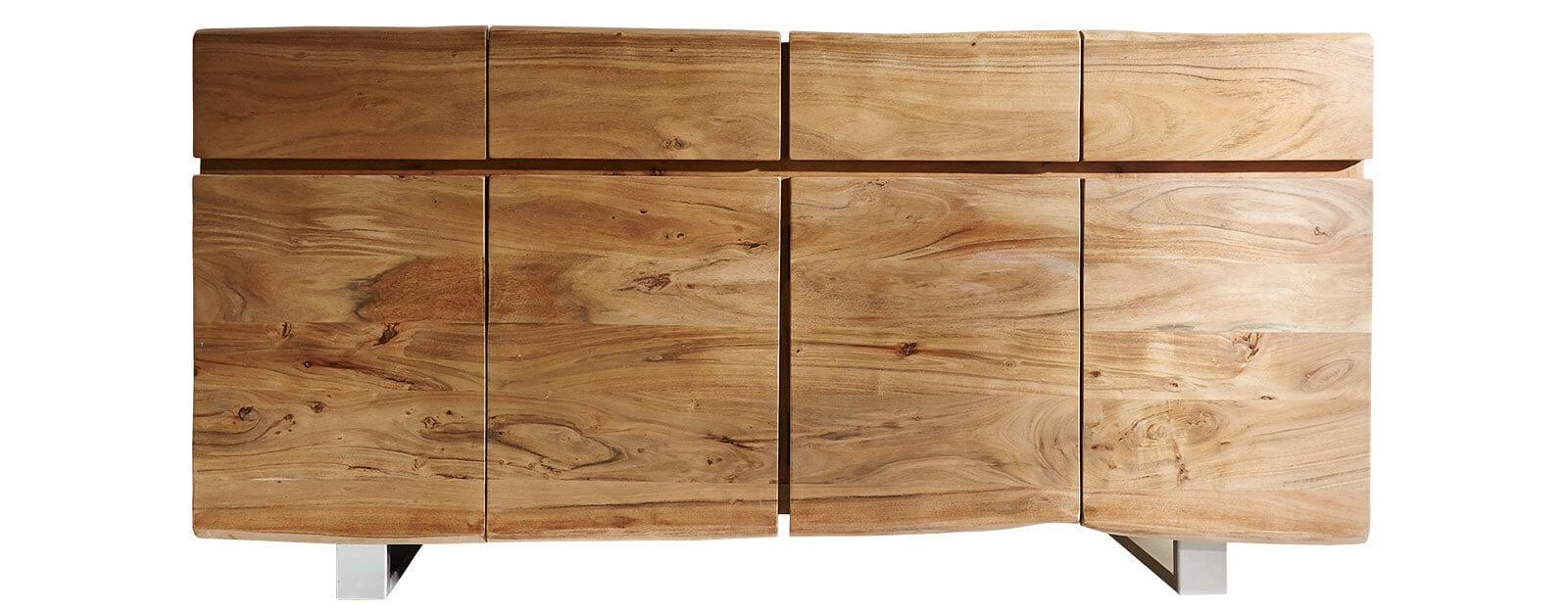Live-Edge Sideboard in Natur