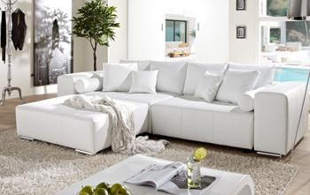 Marbeya Sofa in Weiß