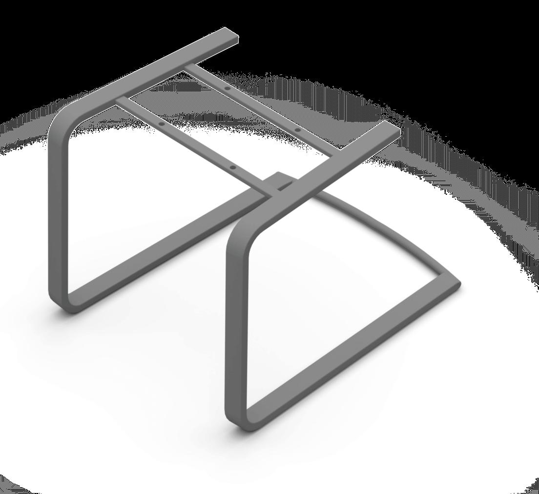 Sitzgestell Flachstahl