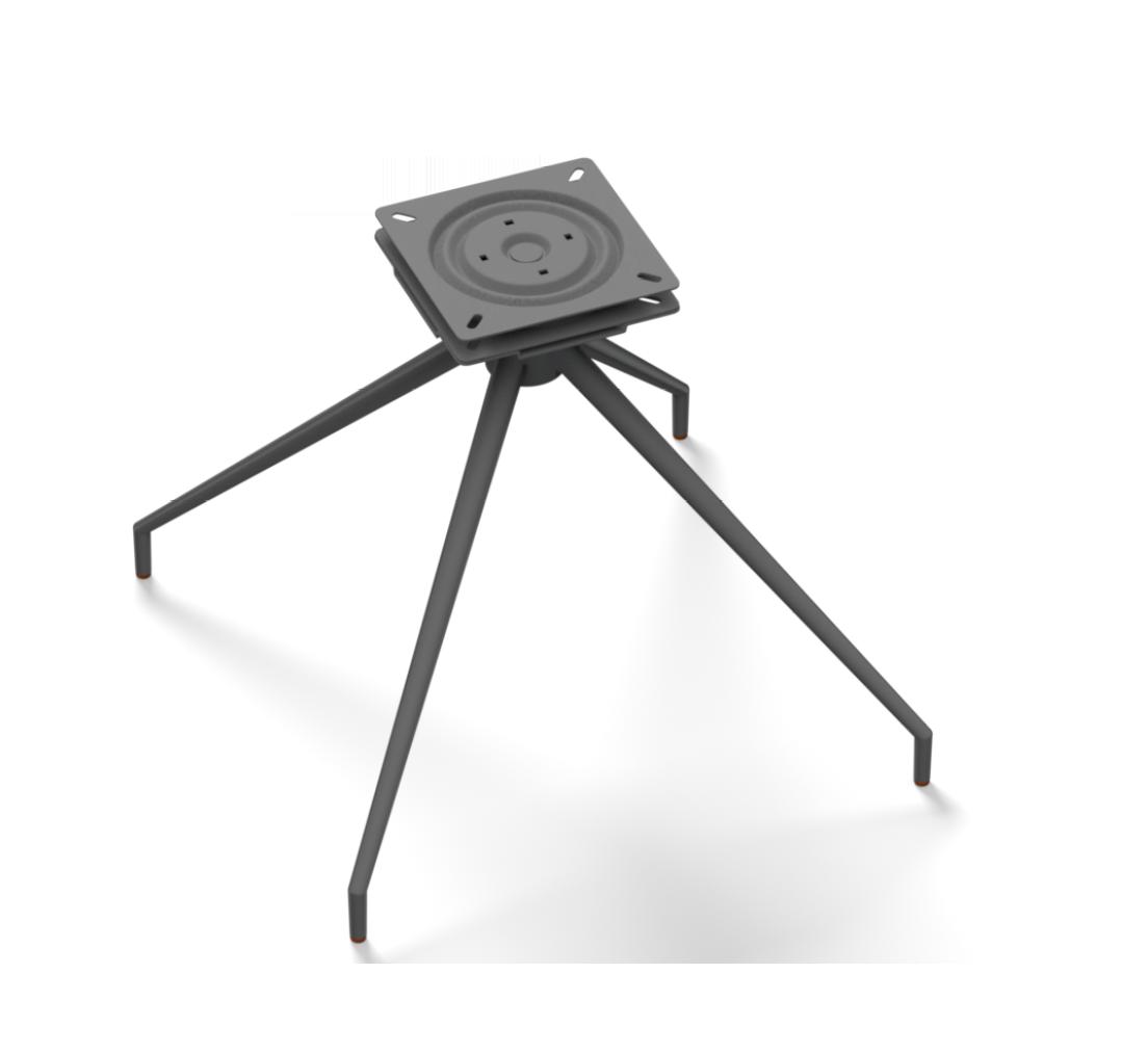 Sitzgestell Kreuzgestell Konisch