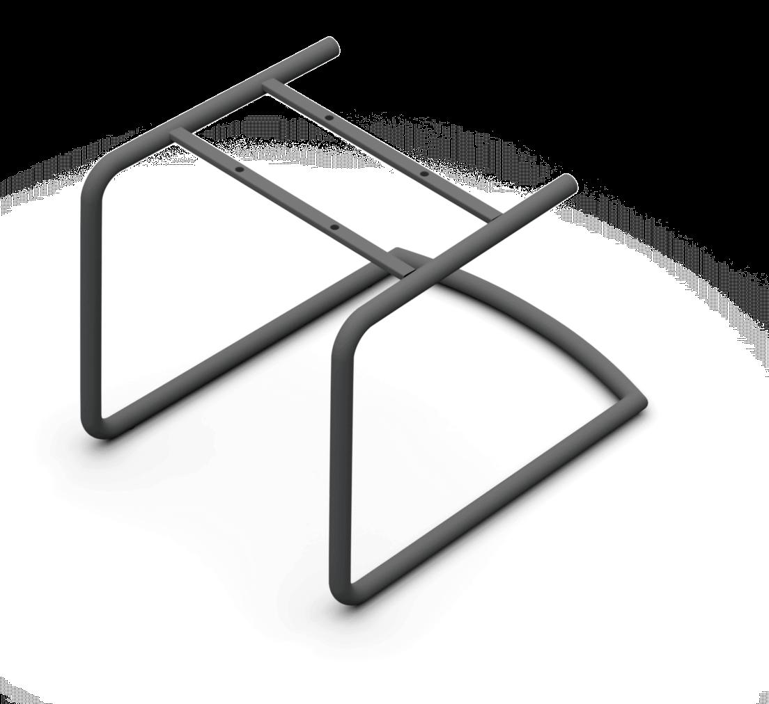 Sitzgestell Rundstahl