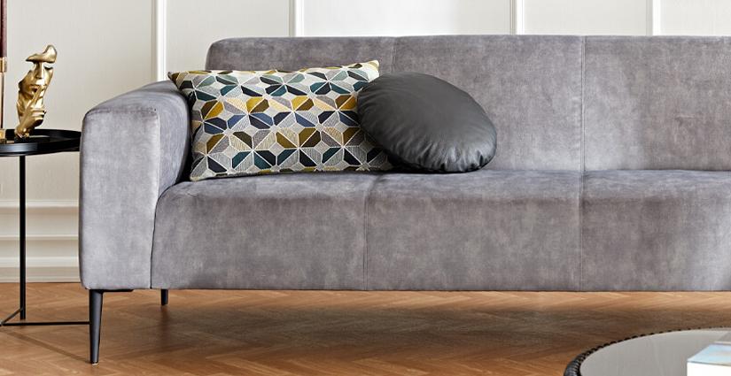 W.SCHILLIG - Sofa in grau