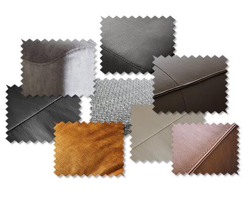 W.SCHILLIG - Materialien als Stoffmuster