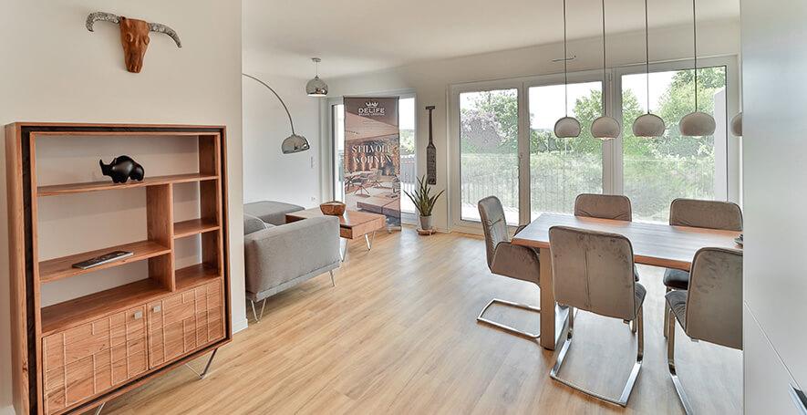 Neurenberg appartement met mooie woon-eetkamer
