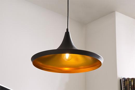 Aluminium Lampe