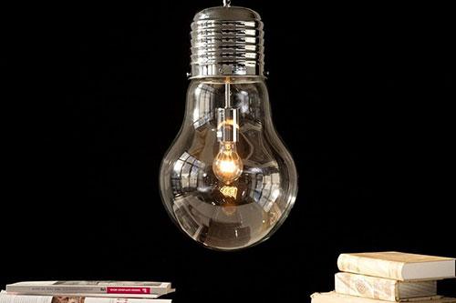 Glas Lampe