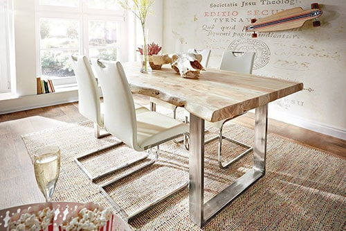 gebleichte Möbel