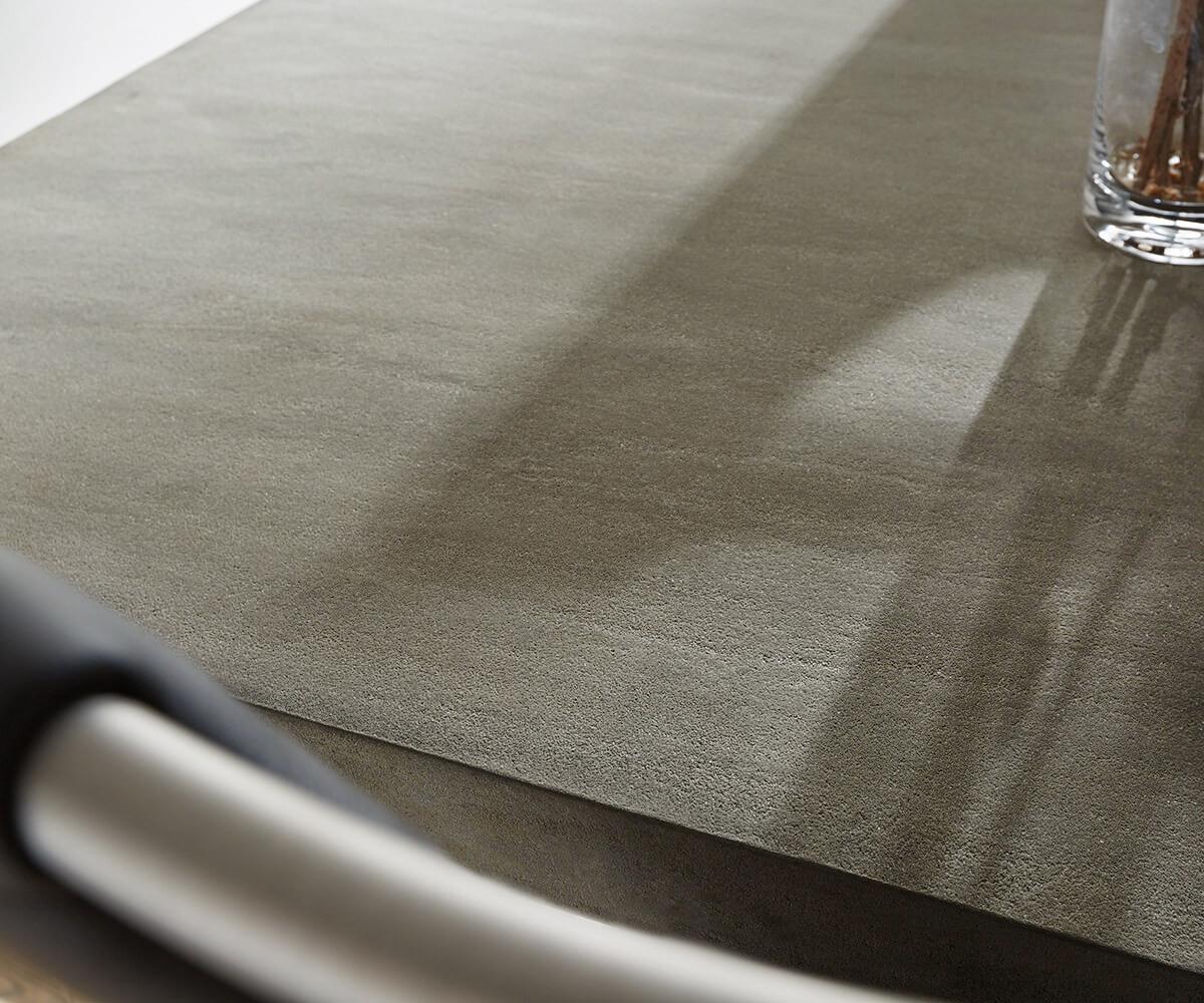 esstisch zement 140x90 grau beton optik gestell schmal. Black Bedroom Furniture Sets. Home Design Ideas