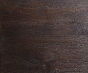 Glasvitrine Blokk Akazie Tabak 105 cm 2 Türen 2 Schübe Massivholz Vitrine [10401]