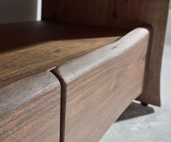 TV-meubel Live-Edge 230 cm acacia massief bruin 4 lades 2