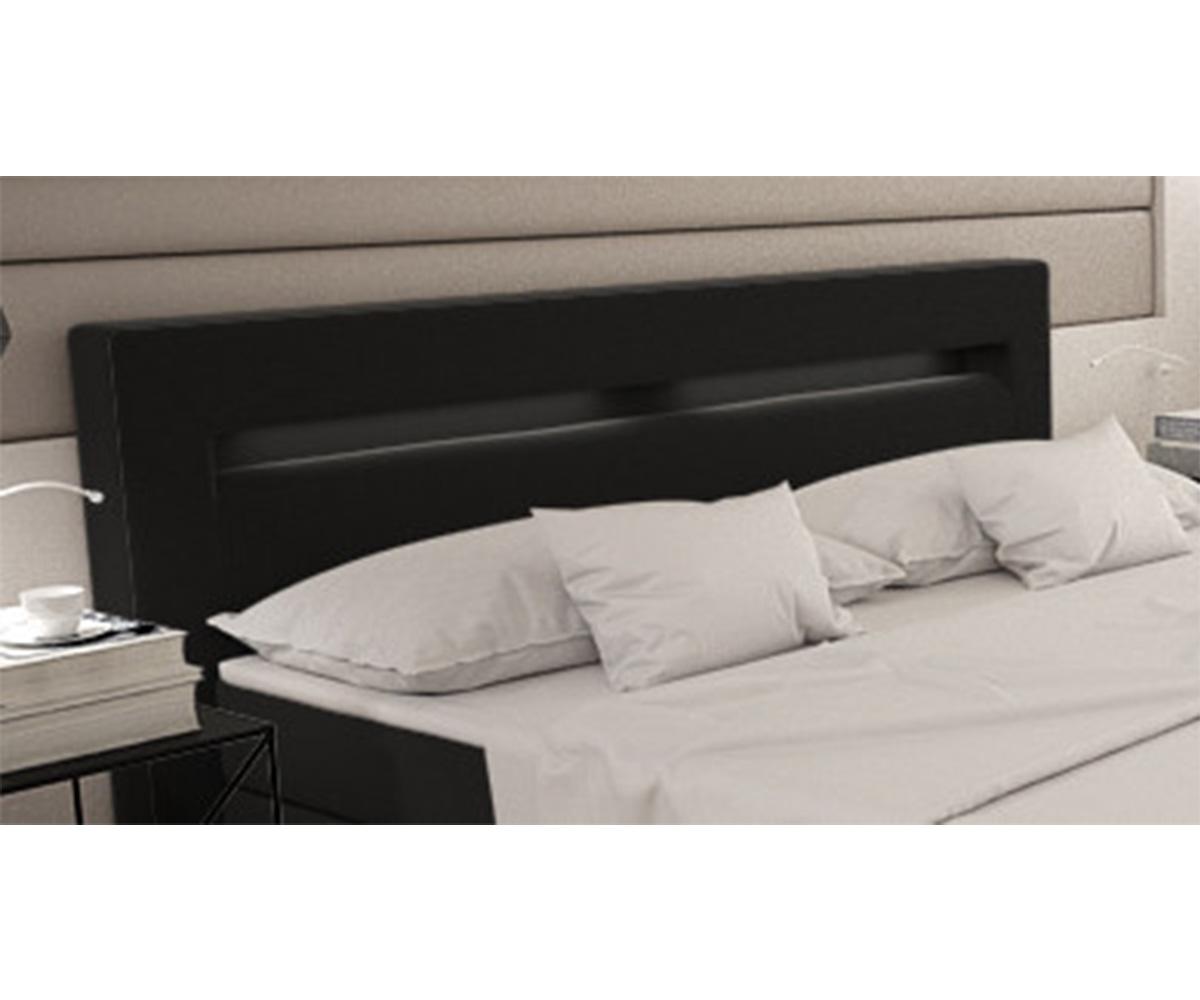 boxspringbett livana 180x200 schwarz kingsize matratze m bel betten boxspringbetten. Black Bedroom Furniture Sets. Home Design Ideas
