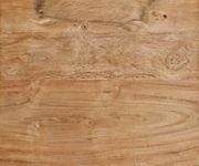 Holzbett Blokk Akazie Natur 180x200 massiv Lattenrost Himmelbett Massivholzbett [10580]