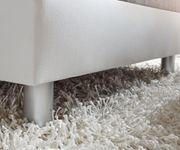 Couch Clovis Weiss Hellgrau Wohnlandschaft Modulares Sofa [10749]