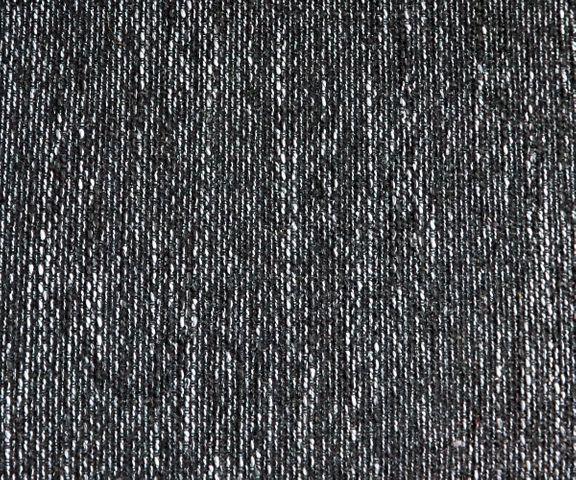 Hoekbank Clovis zwart structuurweefsel armleuning ottomane rechts 2