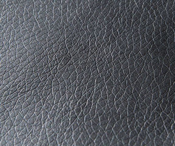 Hoekbank Clovis zwart met hocker ottomane rechts modulair 3