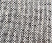 Eckcouch Clovis Hellgrau Strukturstoff mit Armlehne Ottomane Rechts Ecksofa [10795]