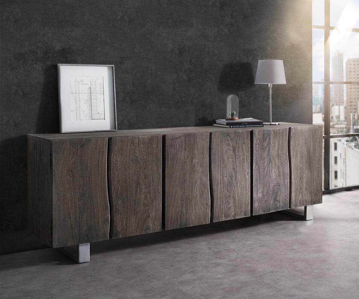 delife-sideboard-live-edge-220-cm-akazie-platin-massiv-6-turen-sideboards-baumkantenmobel-massivholzmobel-massivholz-baumkante-wolf-live-edge