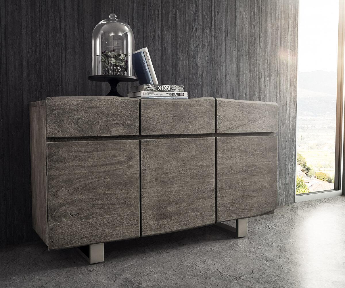 delife-sideboard-live-edge-147-cm-akazie-platin-3-turen-3-schube-sideboards-baumkantenmobel-massivholzmobel-massivholz-baumkante-wolf-live-edge