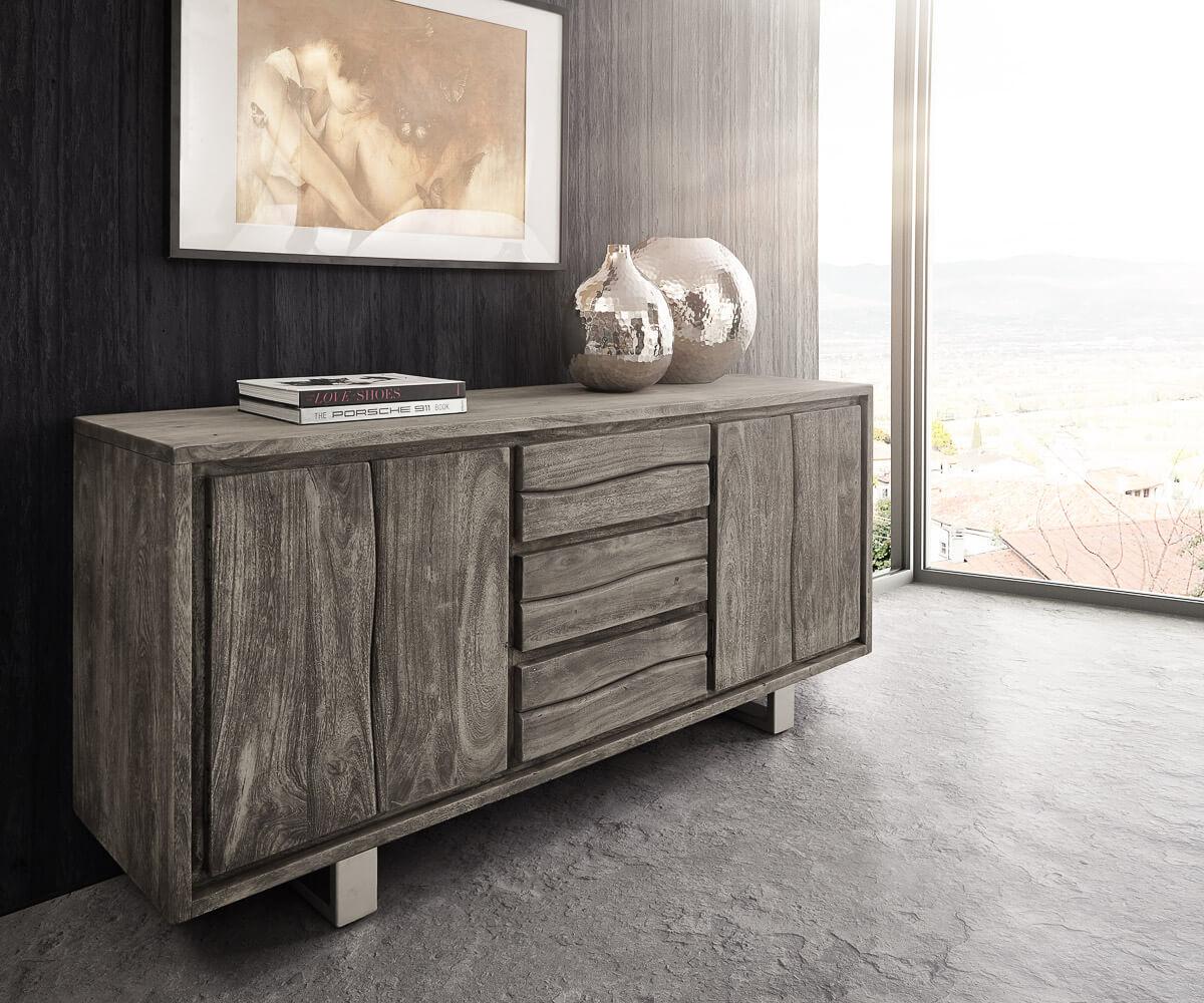 delife-sideboard-live-edge-172-cm-akazie-platin-3-schube-4-turen-sideboards-baumkantenmobel-massivholzmobel-massivholz-baumkante-wolf-live-edge