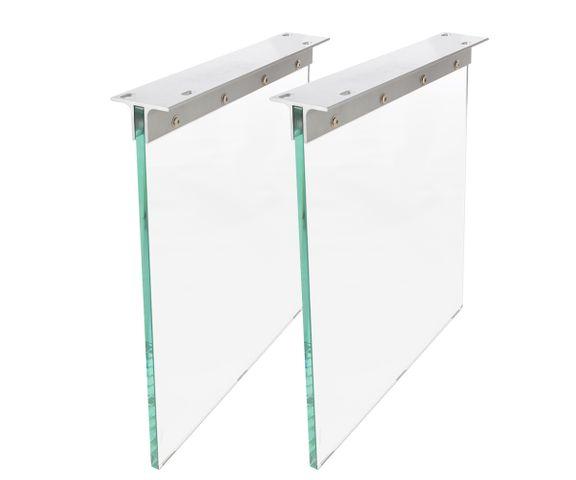 Tischgestell Glas 60x2