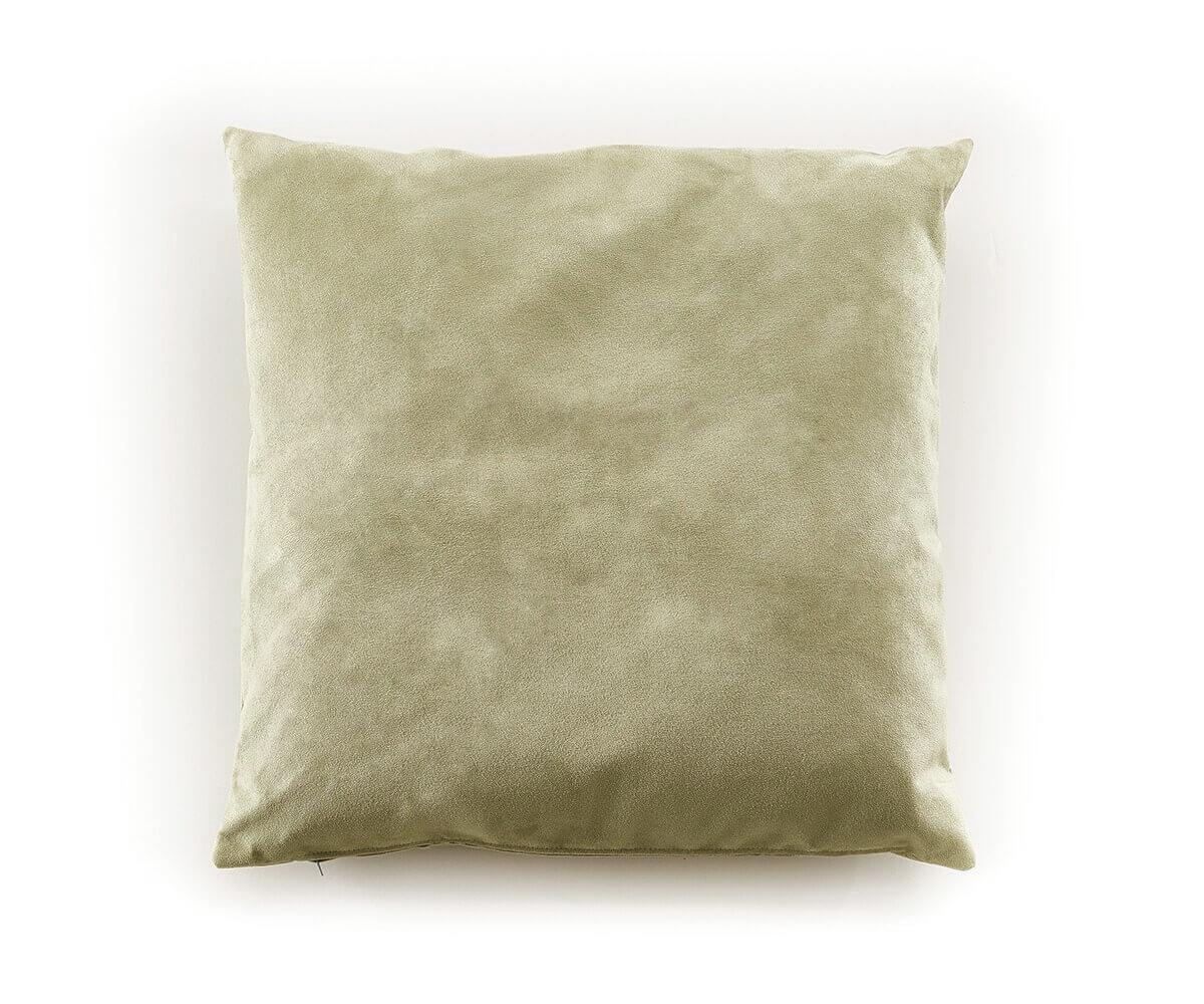 kissen knud 65x65 cm gr n 2er set mikrofaser zierkissen m bel wohnaccessoires kissen. Black Bedroom Furniture Sets. Home Design Ideas