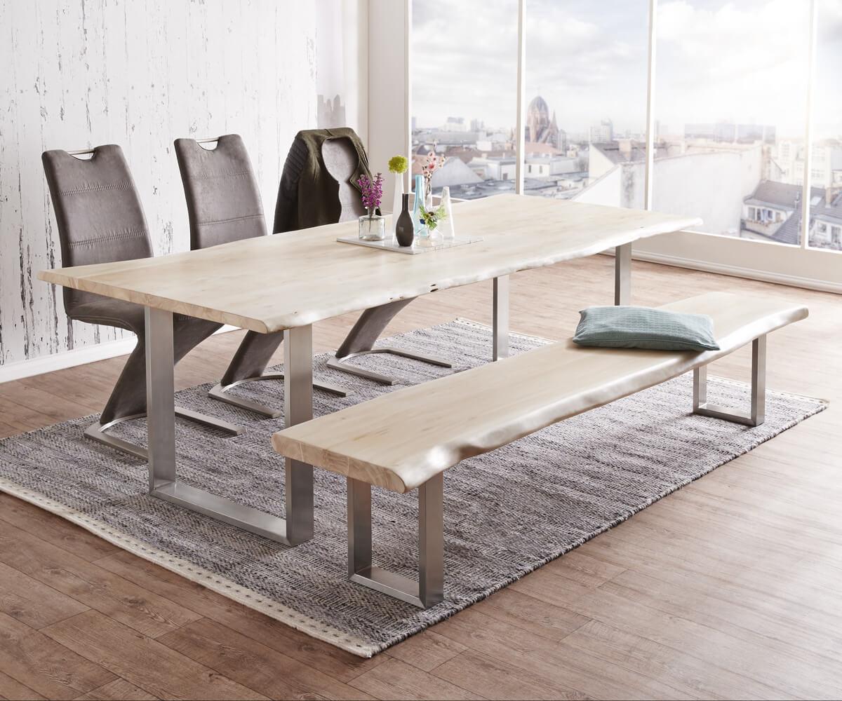 esstisch akazie preisvergleich die besten angebote online kaufen. Black Bedroom Furniture Sets. Home Design Ideas
