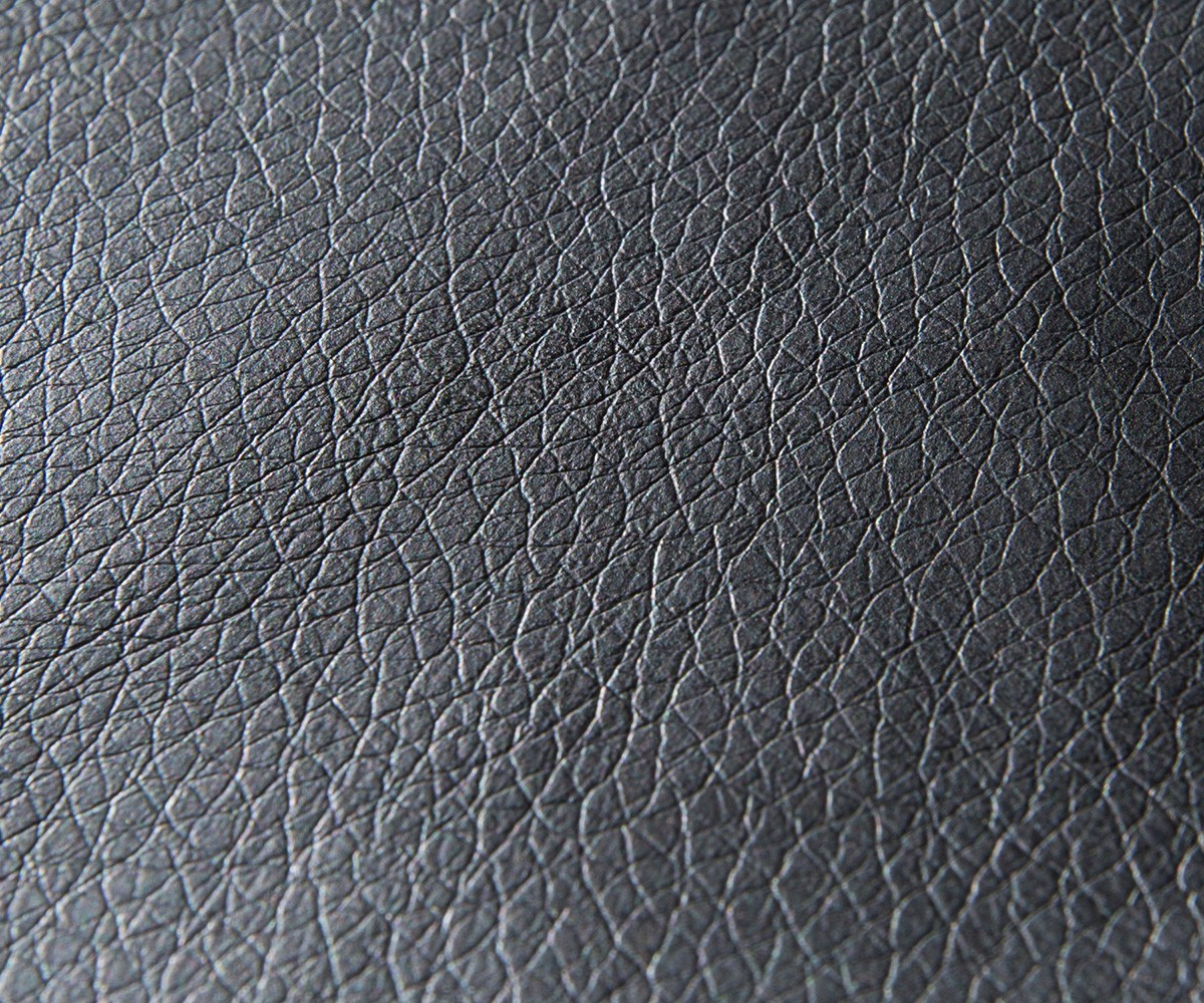 Stofpatroon Clovis en Panama modulaire bank kunstleder zwart