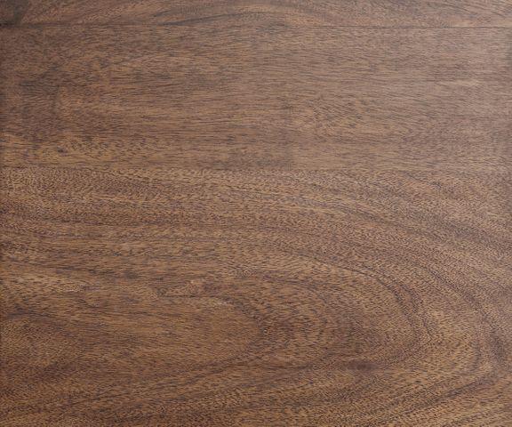 Bureautafel Live-Edge acacia bruin 180x180 frame zwart boomrand bureau 3
