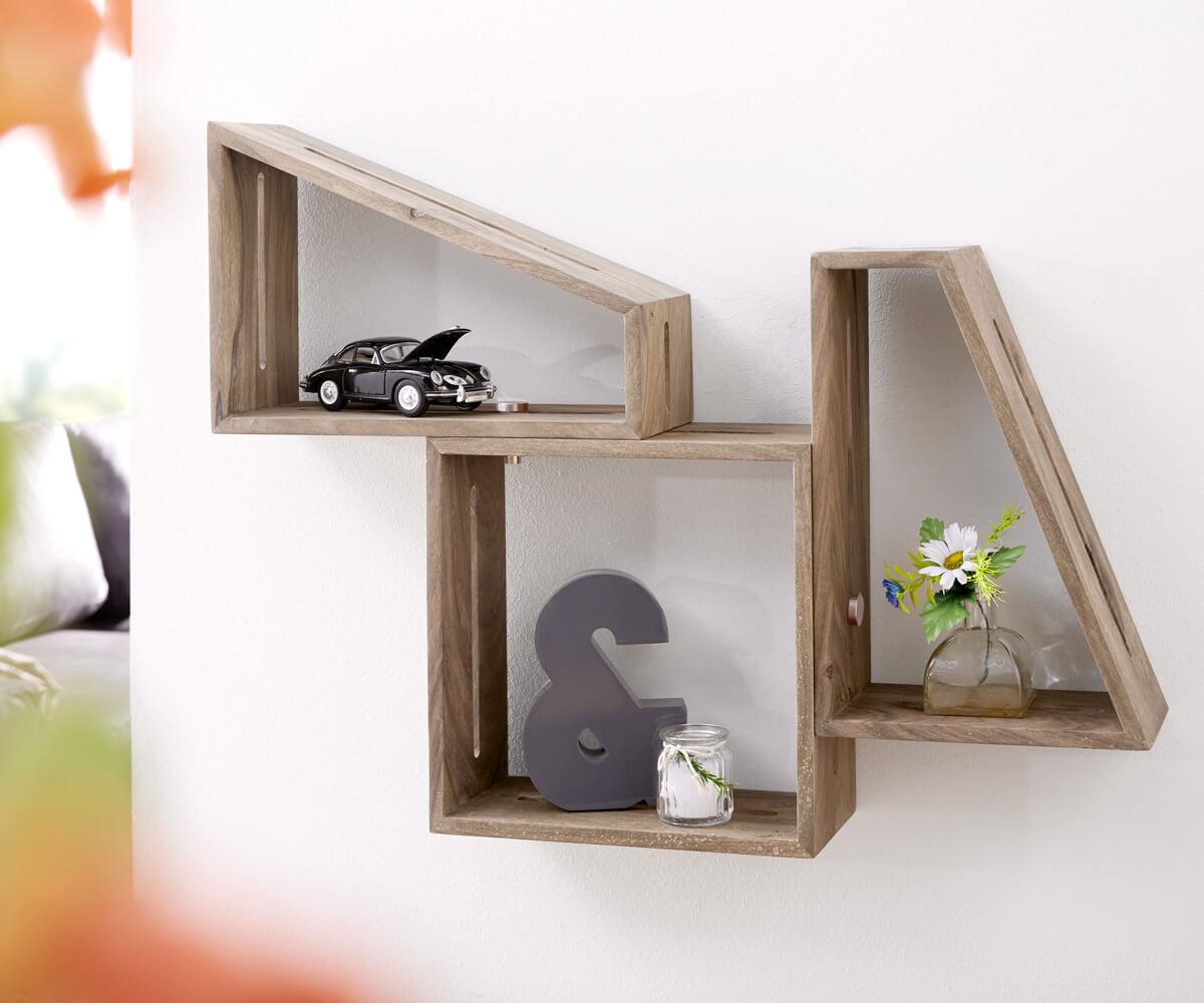 delife-designer-wandregal-wyatt-70x55-cm-sheesham-natur-3er-set-wandregale