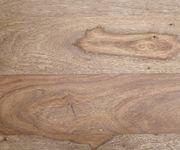 Kommode Wyatt Sheesham Natur 175 cm 3 Türen Edelstahl Designer Sideboard [11382]