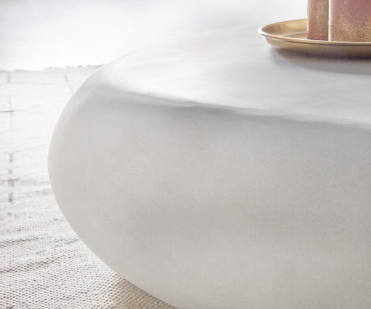 wohnzimmertisch rock grau 118x80 cm beton optik stein couchtisch ebay. Black Bedroom Furniture Sets. Home Design Ideas
