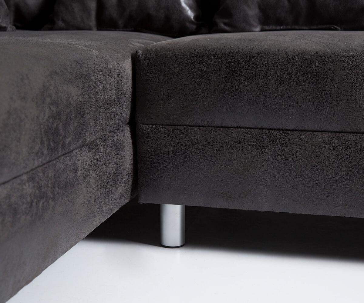 wohnlandschaft clovis anthrazit antik optik modulsofa m bel sofas wohnlandschaften. Black Bedroom Furniture Sets. Home Design Ideas