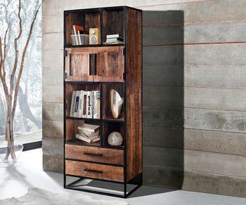 massiv regale raumteiler und b cherregale aus edlem. Black Bedroom Furniture Sets. Home Design Ideas