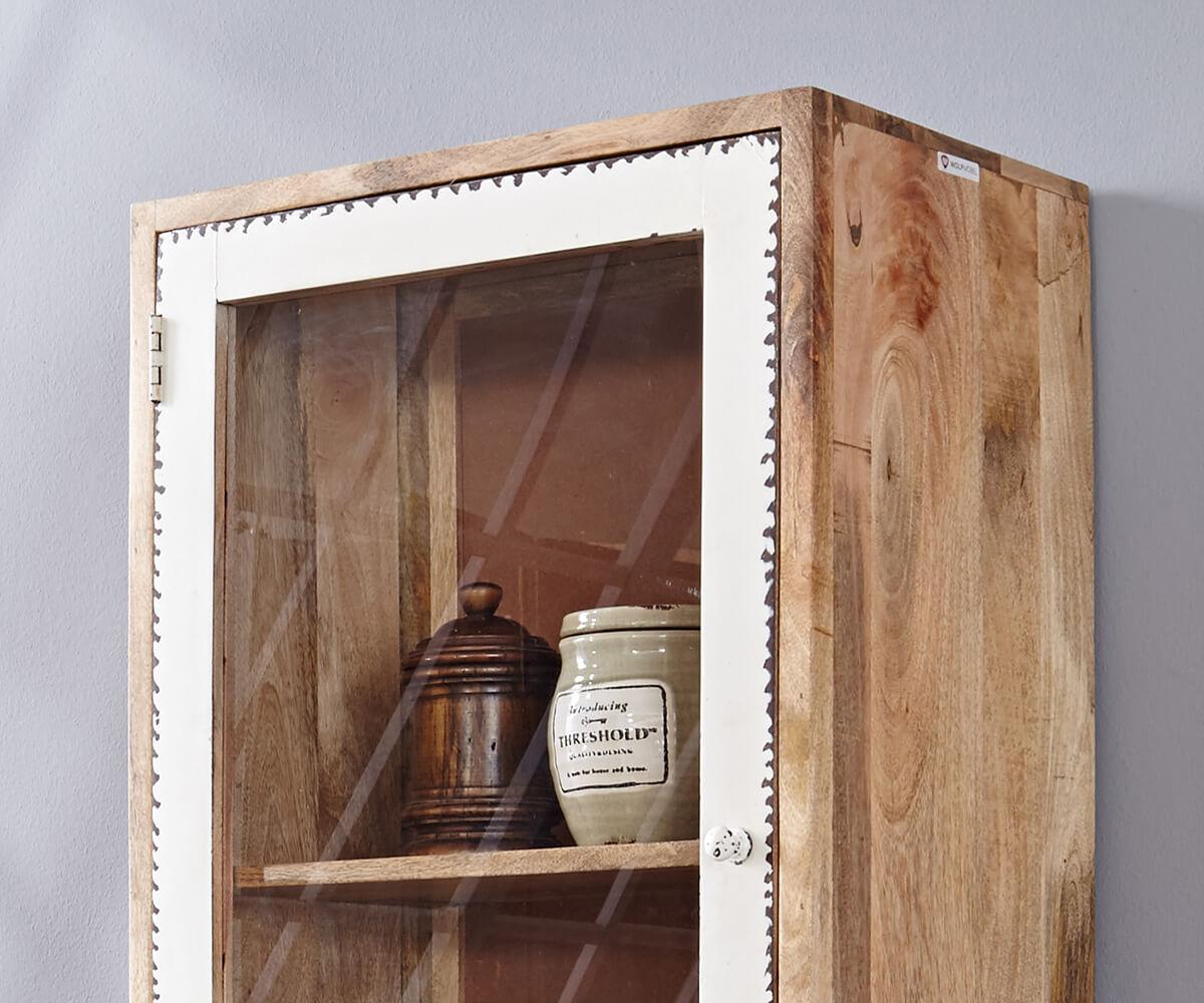 vitrine himalaya 60 cm mango natur 1 schub 2 t ren m bel. Black Bedroom Furniture Sets. Home Design Ideas