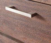 Kommode Creed Akazie Tabak 180 cm 4 Türen 4 Schübe Massivholz Sideboard [12078]