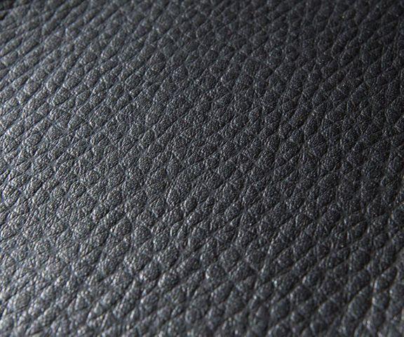 Cocktailstoel Pieder zwart lounge bekleed kunstleder 2