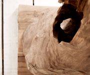 Dekoobjekt Raiz Teakholz Natur 160 cm Wurzel Unikat Massivholz Dekoration [12299]