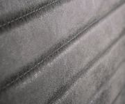 Essbank Earnest Grau Vintage 200 cm mit Armlehne Gestell Edelstahl Sitzbank [12413]