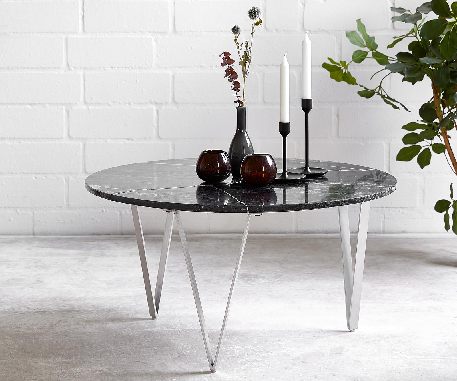 delife-couchtisch-luminoso-80x80-cm-marmor-schwarz-mit-metallgestell-couchtische