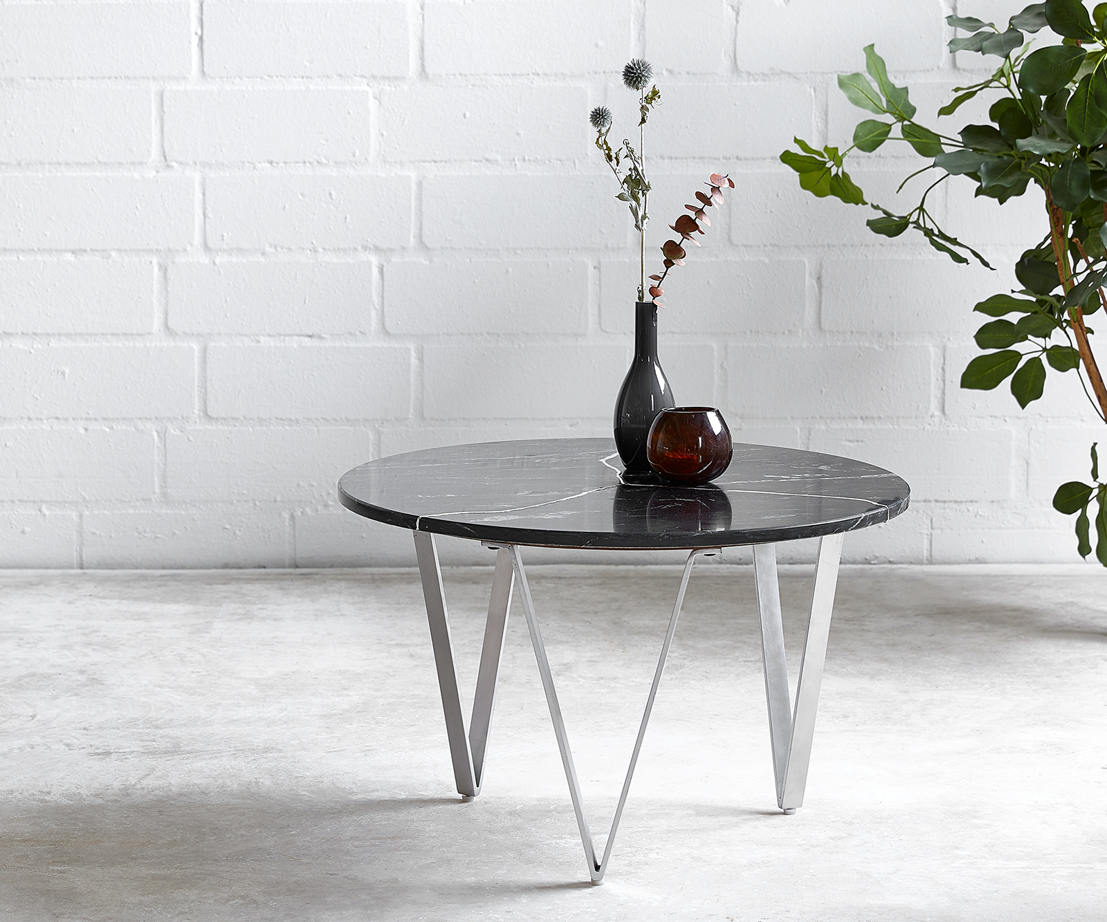 delife-couchtisch-luminoso-60x60-cm-marmor-schwarz-mit-metallgestell-couchtische