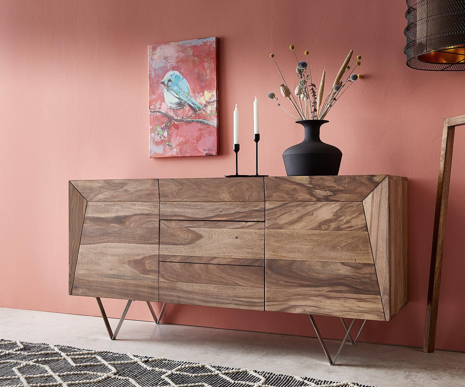 delife-sideboard-wyatt-150x45-cm-sheesham-natur-edelstahl-2-turen-sideboards