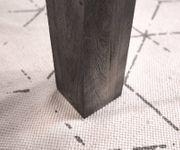Esszimmertisch Indra Akazie Platin 200/300x100 cm Massivholz ausziehbar Esstisch [12975]