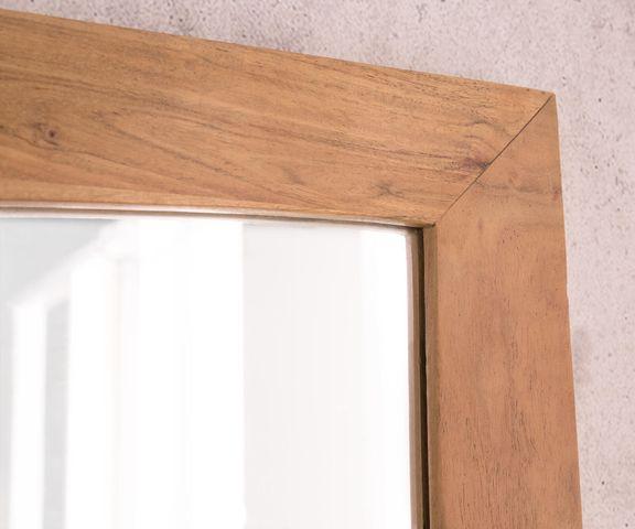 Designer-wandspiegel Wyatt 160x70 cm acacia natuur 3