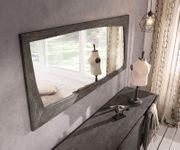 Spiegel Wyatt Akazie Platin 160x70 cm Designer Wandspiegel [13050]