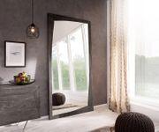 Spiegel Wyatt Akazie Platin 200x100 cm Design Wandspiegel [13054]