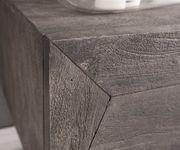 Fernsehtisch Wyatt Akazie Platin 175 cm 1 Klappe 2 Türen Design Lowboard [13082]