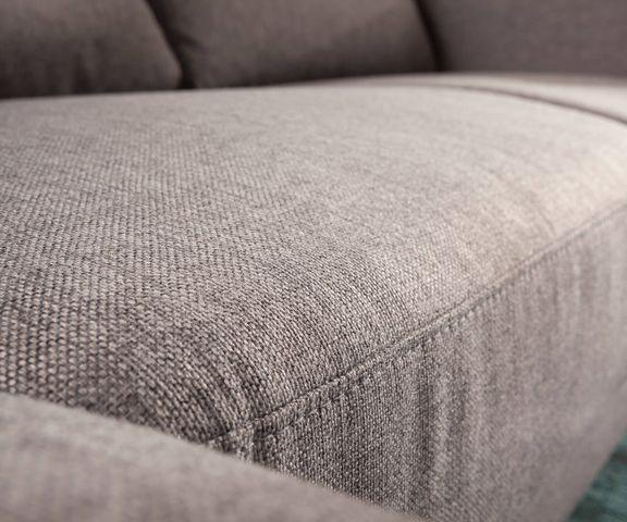 Designer-hoekbank Silas 235x147 cm grijs ottomane links 3