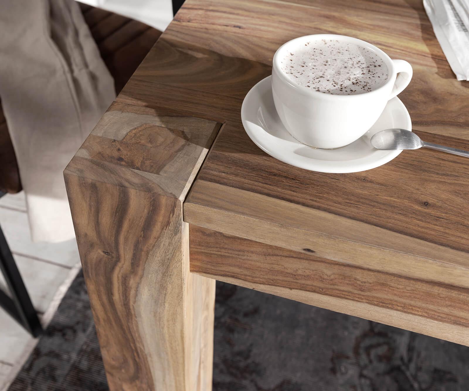 esstisch indra sheesham natur 200 300x100 cm ausziehbar. Black Bedroom Furniture Sets. Home Design Ideas