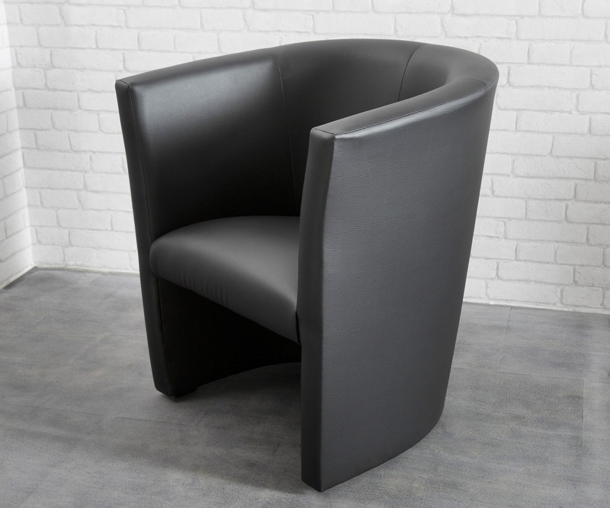 Cocktailsessel Goya Schwarz Design Sessel Lounge Sessel, Cocktailsessel